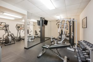 Wyndham Riverfront Little Rock fitness center