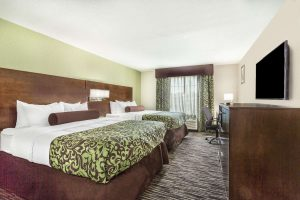 Baymont Inn and Suites North Little Rock Arkansas double