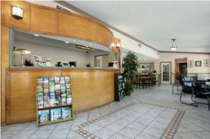 America's Best Value Inn North Little Rock, Arkansas lobby