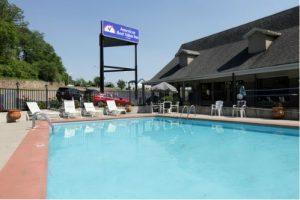 America's Best Value Inn North Little Rock Arkansas pool