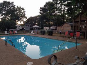 KOA Campground North Little Rock, Arkansas pool