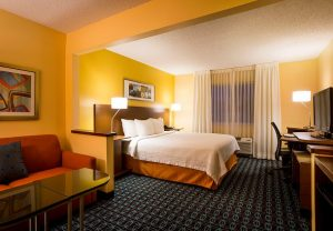 Fairfield Inn North Little Rock, Arkansas suite
