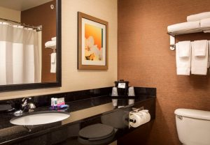Fairfield Inn North Little Rock Arkansas - bathroom