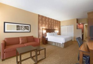 Courtyard Marriott North Little Rock king room