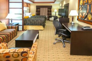 Best Western JFK North Little Rock, Arkansas double suite