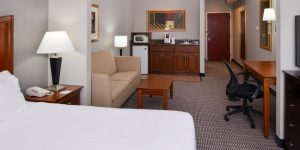 Holiday Inn Express and Suites North Little Rock Arkansas suite