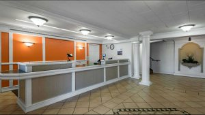 Motel 6 North Little Rock, Arkansas, lobby