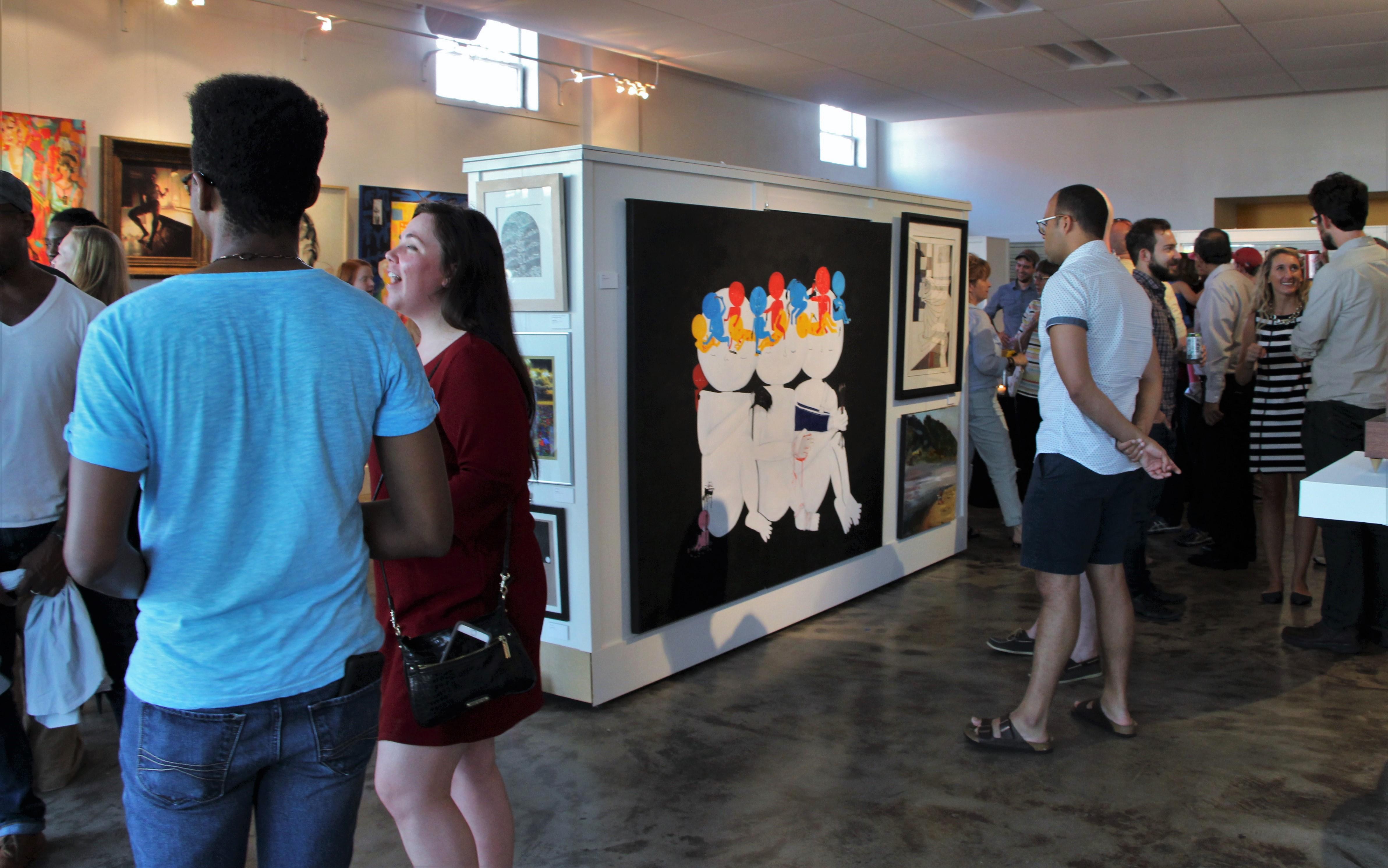 Argenta Art Walk - Thea Foundation - North Little Rock