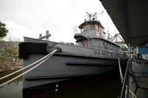 Hoga tugboat - Arkansas Inland Maritime Museum