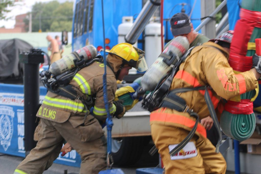 North Little Rock Scott Firefighter Challenge