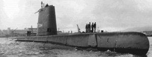 USS Razorback Submarine