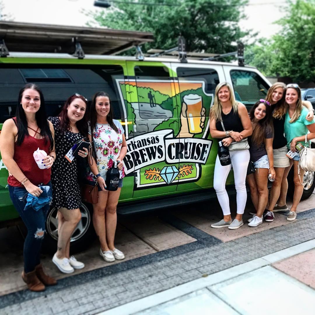 Arkansas Brews Cruise - 3 Brewery Tasting Tour
