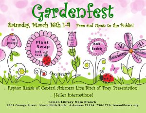 GardenFest Laman Library North Little Rock