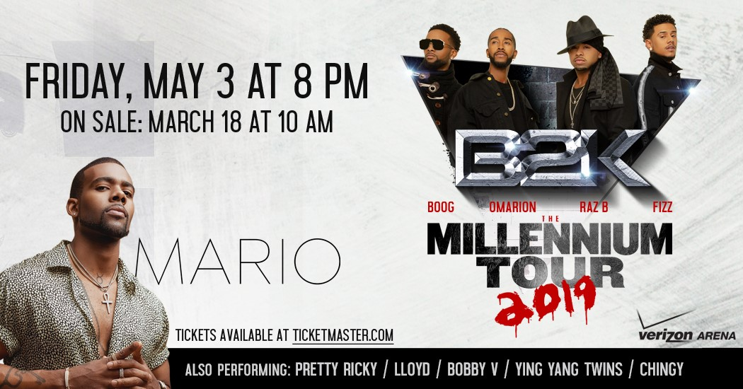B2K and Mario Millennium Tour