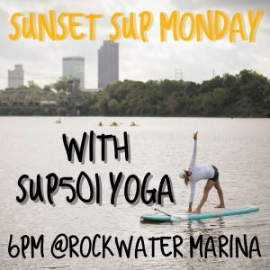 Sunset SUP yoga